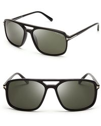 Tom Ford Terry Navigator Sunglasses brown - Lyst