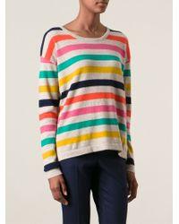 Woolrich Striped Sweater - Lyst