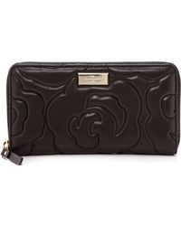 Kate Spade Sweets Zip Around Continental Wallet - Black - Lyst