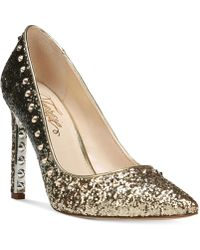 Fergie - Helix Embellished Court Shoes - Lyst