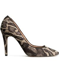 H&M Animal Court Shoes - Lyst