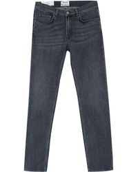 Acne Studios Charcoal Ace Eighties Slim Jeans L32 - Lyst