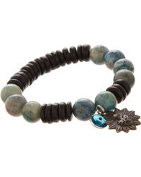 Miracle Icons - Heishi Bead Bracelet - Lyst