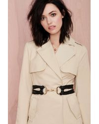 Nasty Gal Hold It Together Braided Belt - Lyst