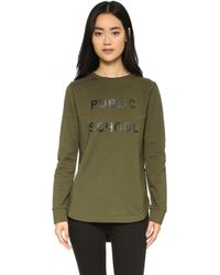Public School - Ps Tail Sweatshirt - Lyst