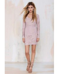Nasty Gal Lia Lace Dress - Lyst