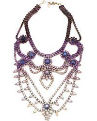 Doloris Petunia Oslo Necklace Ombre Purple - Lyst