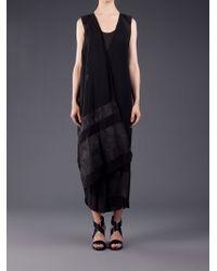 Alessandra Marchi Silk Vest - Black