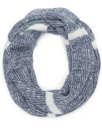 Splendid Marled Stripe Scarf - Blue