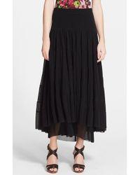 Jean Paul Gaultier Long Tiered Tulle Skirt - Lyst
