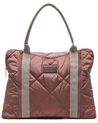 Adidas By Stella Mccartney Brown Yoga Bag - Lyst