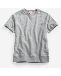 Cole Haan - Short Sleeve Sweatshirt - Lyst