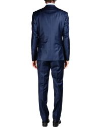 Moschino Suit - Blue