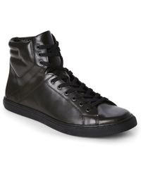 Kenneth Cole Reaction | Black Think I Can Fashion Sneakers | Lyst