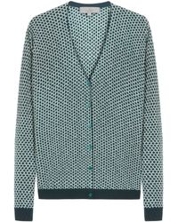Mulberry White Printed Cardigan - Lyst