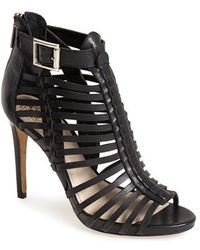 Vince Camuto 'Remmie' Leather Cage Sandal - Lyst