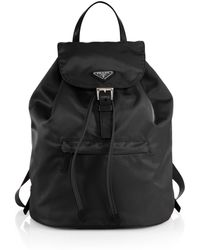 Prada Vela Backpack - Lyst