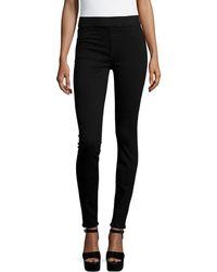 Jen7 Rich Power Pull-on Skinny Jeans - Black