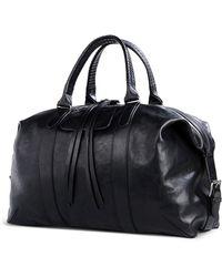 Ann Demeulemeester Large Leather Bag - Lyst