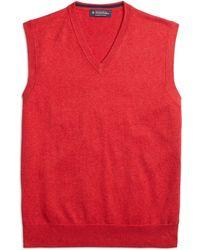 Brooks Brothers Supima Cotton Vest - Lyst