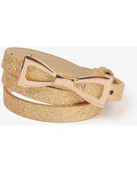 Forever 21 - Sparkling Bow Hip Belt - Lyst