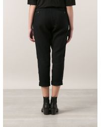 Arts & Science Cropped Pants - Blue