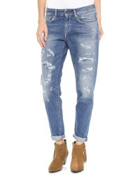 Levi's The Marker Boyfriend Jeans Broken Notes - Lyst