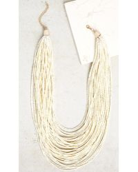Bobeau - Stacked Beaded Necklace - Lyst