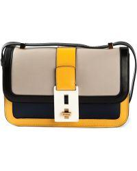 Vionnet Multicolor Satchel Bag - Lyst