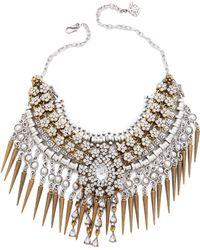 Laura Cantu - Spike Necklace - Gold Multi - Lyst