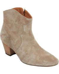 Isabel Marant Dicker Ankle Boots - Lyst