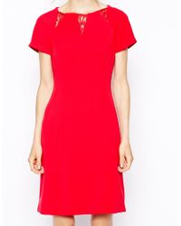 Coast Red Orchid Dress - Lyst