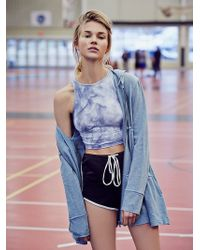 Free People Womens Tiered Trapeze Zip Sweatshirt - Lyst