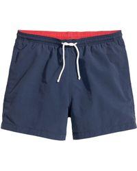 H&M Solid Colour Swim Shorts - Lyst