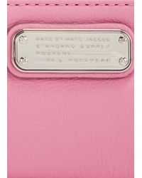 Marc By Marc Jacobs - New Q Pink Leather Pouch - Lyst