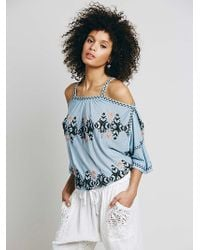 Free People South By Blouse - Lyst