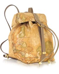Alviero Martini 1A Classe - Sporting Soft Geo Print Backpack - Lyst