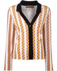 Duro Olowu - Striped Henley Sweater - Lyst