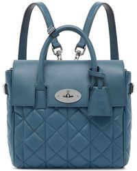 Mulberry - Cara Delevigne Mini Quilted Backpack - Lyst