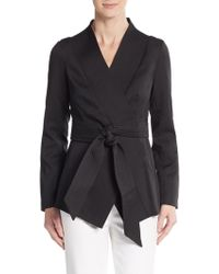 Cameo - Wrap It Up Belted Jacket - Lyst