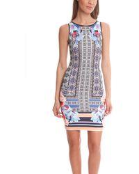 Clover Canyon Byzantine Scarf Neoprene Dress multicolor - Lyst