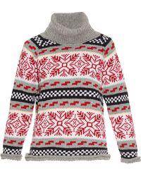 Michaela Buerger - Lady Arma Intarsia Wool-knit Jumper - Lyst