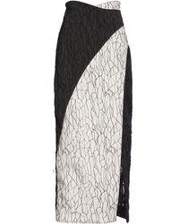Jonathan Simkhai | Midi Caviar Drip Skirt | Lyst