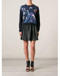 Mary Katrantzou 'Knipi' Sweater - Lyst