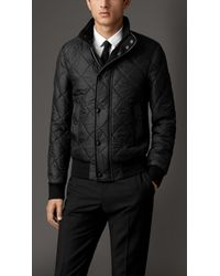 Burberry Quilted Packaway Hood Blouson - Lyst