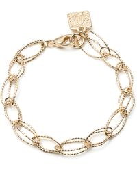 Anne Klein - Ring Leader Gold Bracelet - Lyst