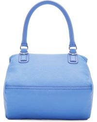 Givenchy Lilac Blue Small Pandora Bag blue - Lyst