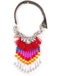 P.A.R.O.S.H. Kanek Necklace - Multicolour