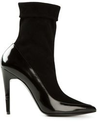 Pierre Hardy Panelled Ankle Boots - Lyst