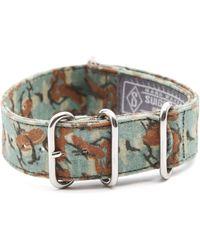 Suigeneric Ash Grey Brit Camouflage Bracelet - Lyst